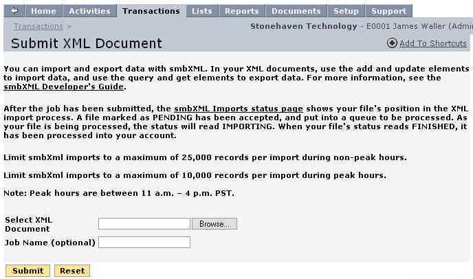 XML in Netsuite